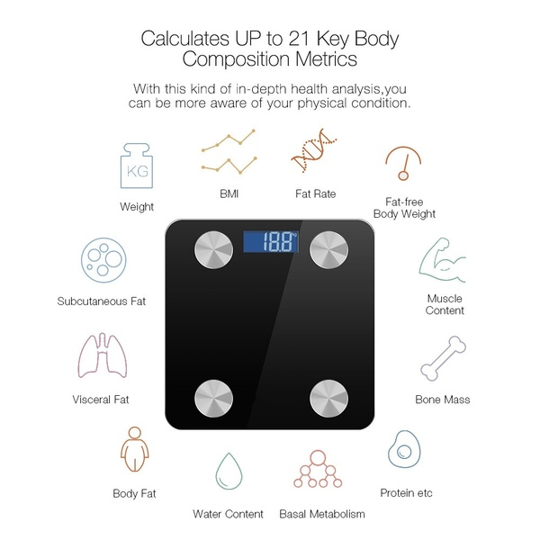 body scale bluetooth